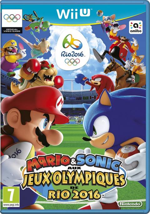Mario & Sonic aux Jeux Olympiques de Rio 2016 sur WiiU