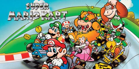 Super Mario Kart sur 3DS