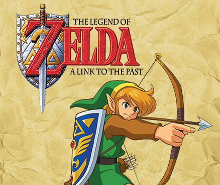 The Legend of Zelda : A Link to the Past sur Wii