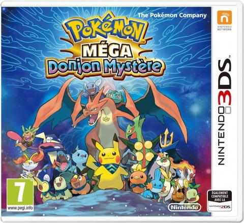 Pokémon Méga Donjon Mystère sur 3DS
