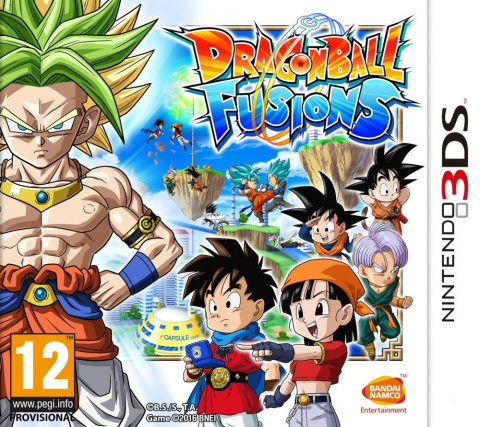 Dragon Ball Fusions sur 3DS