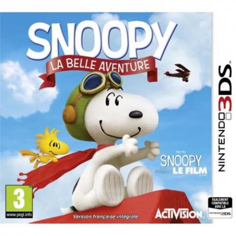 Snoopy : La grande aventure sur 3DS