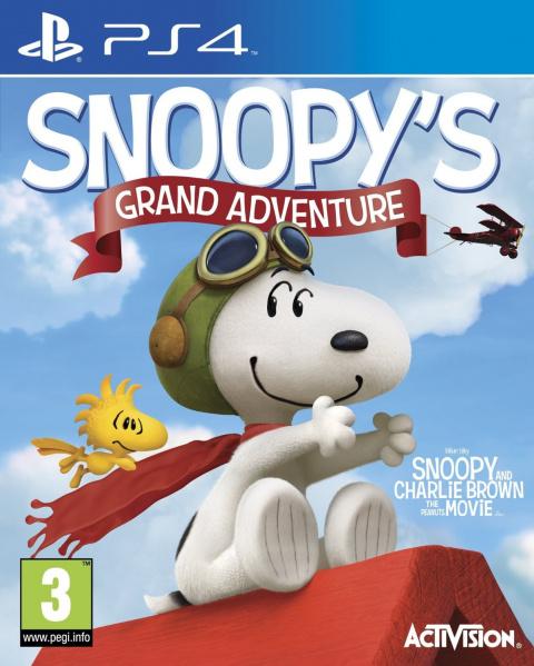 Snoopy : La grande aventure sur PS4