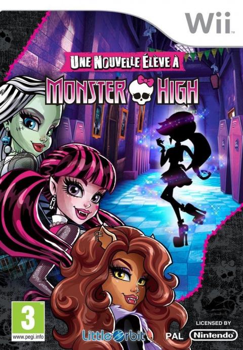 Une nouvelle élève à Monster High sur Wii