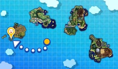 Découverte de la dernière île