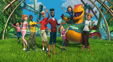 Jaquette de Planet Coaster : Le roi de la Gestion / Création de parcs d'attraction est là ! sur PC