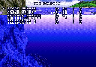 Debug Mode ( Mega Drive - Mega-CD )