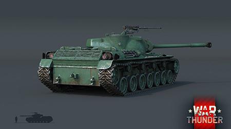 War Thunder : Le tank ST-A1 rejoint l'armada japonaise