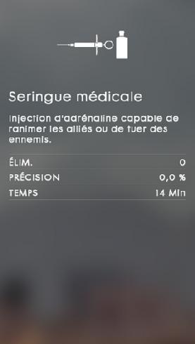 Gadgets de la classe Medic
