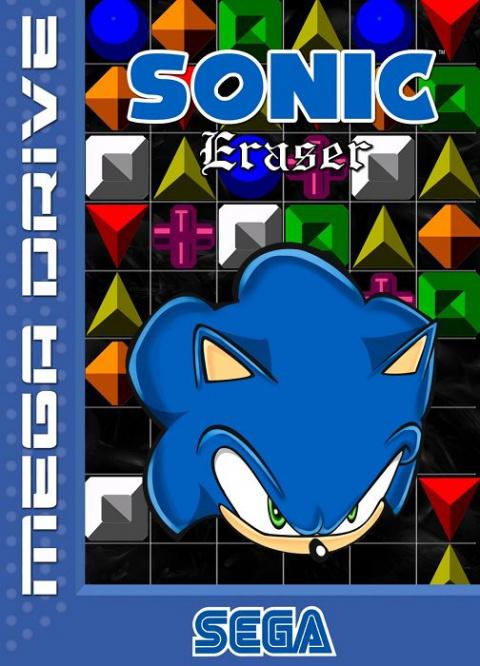 Sonic Eraser sur MD