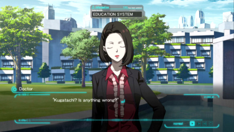 PSYCHO - PASS : Mandatory Happiness - Un visual novel qui manque d'impact