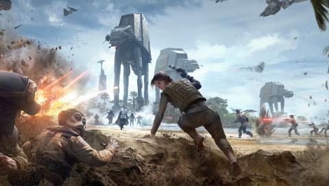 On a essayé le nouveau DLC de Star Wars Battlefront, dédié au Rogue One !