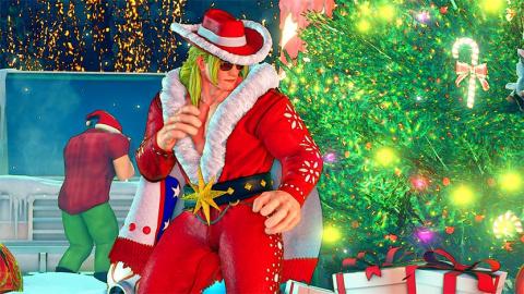 Des costumes de Noël pour Street Fighter V