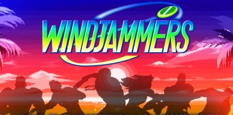 Jaquette de Windjammers : Une version sur PlayStation 4 et PlayStation Vita