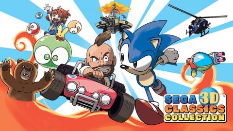 Jaquette de SEGA 3D Classics Collection : Fun et action au royaume du retrogaming ! sur 3DS