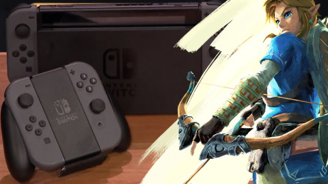 Du gameplay de Zelda: Breath of the Wild sur Nintendo Switch