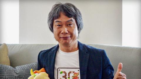 "Jaquette de Shigeru Miyamoto : Nintendo ""aurait dû créer"" Minecraft"