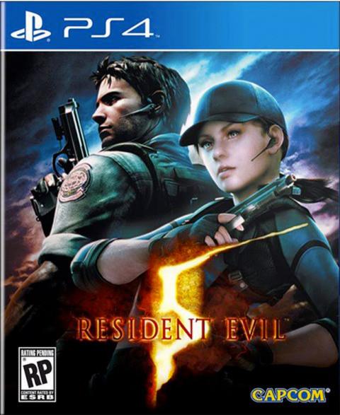 Resident Evil 5 sur PS4