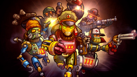 Jaquette de Steamworld Heist : la tactique tactile à son meilleur  sur iOS