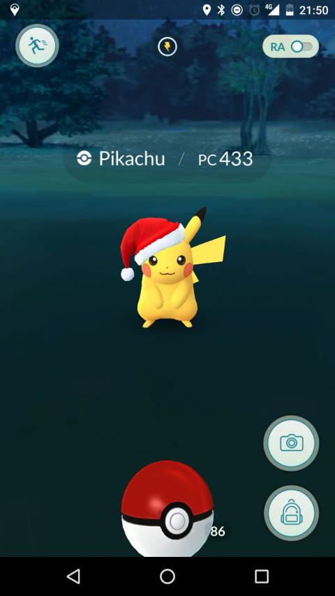 Comment capturer le Pikachu de Noël ?