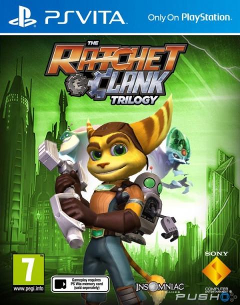The Ratchet & Clank HD Trilogy sur Vita