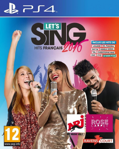 Let's sing (PS4) : hits français 2016