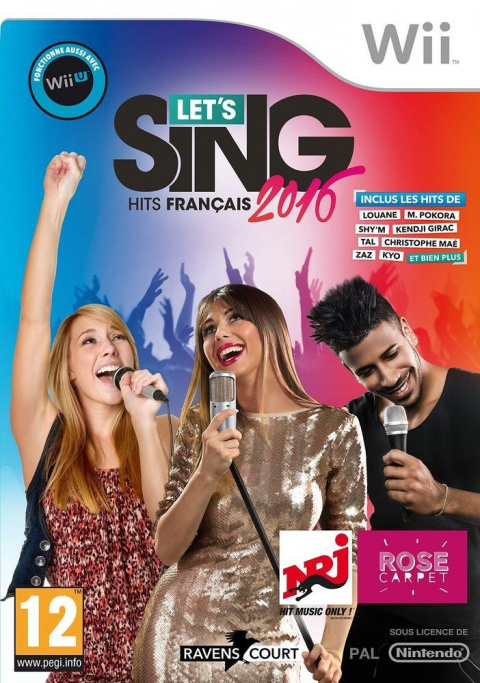 Let's Sing 2016 : Hits Français sur Wii