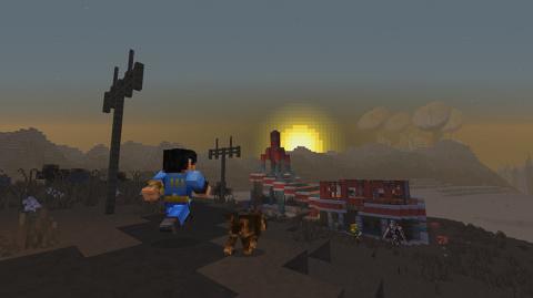 Jaquette de La série des Fallout s'invite dans Minecraft