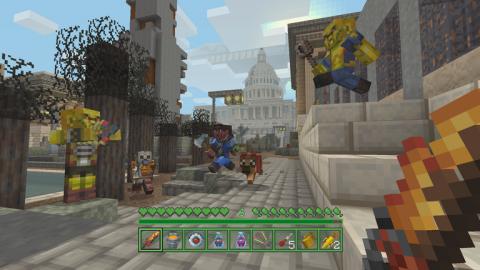 La série des Fallout s'invite dans Minecraft