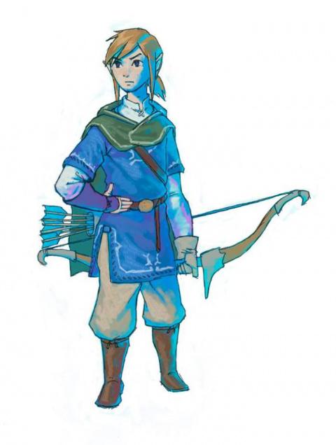 Zelda : Breath of the Wild revient avec deux artworks et un screenshot