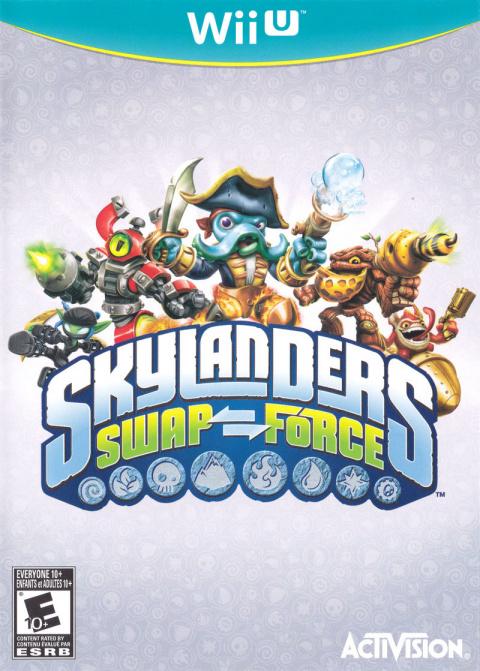Skylanders SWAP Force sur WiiU