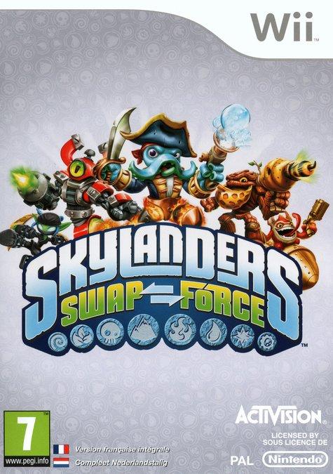 Skylanders SWAP Force sur Wii