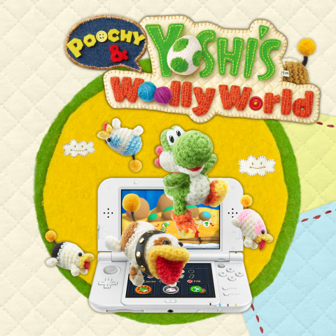 Poochy & Yoshi's Woolly World sur 3DS