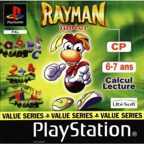 Rayman Junior CP sur PS1