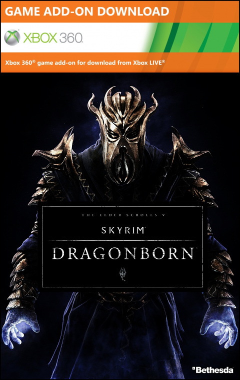 The Elder Scrolls V : Skyrim - Dragonborn sur 360
