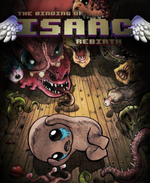 The Binding of Isaac : Rebirth sur PS4