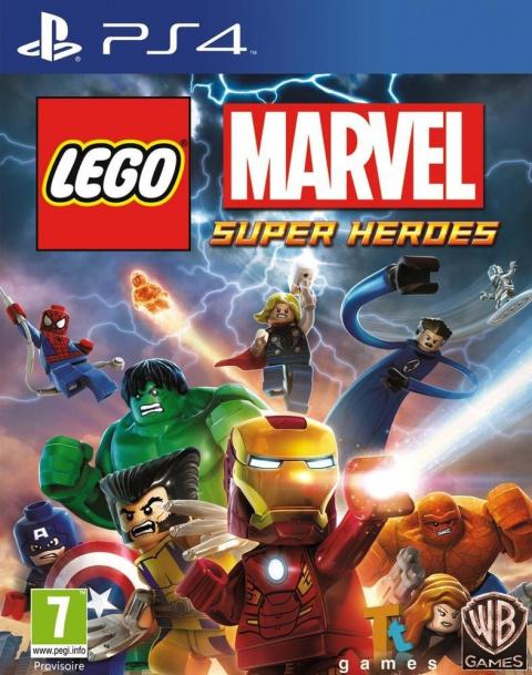 LEGO Marvel Super Heroes sur PS4