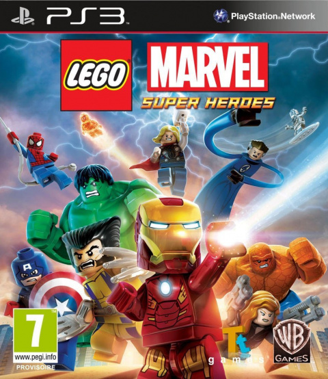 LEGO Marvel Super Heroes sur PS3