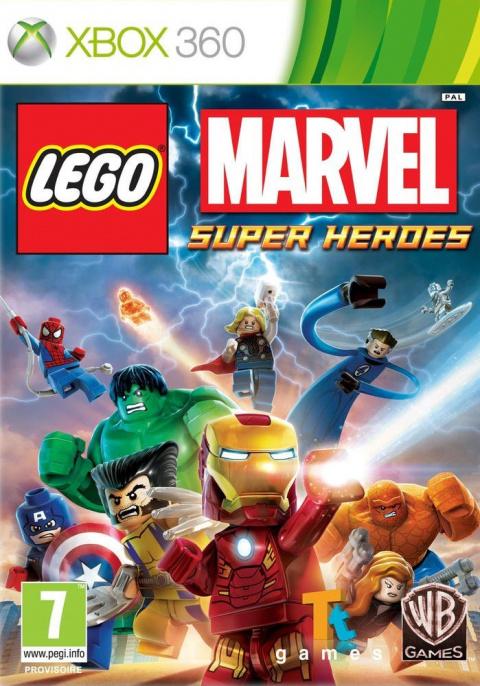 LEGO Marvel Super Heroes sur 360