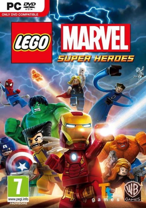 LEGO Marvel Super Heroes sur Box Orange