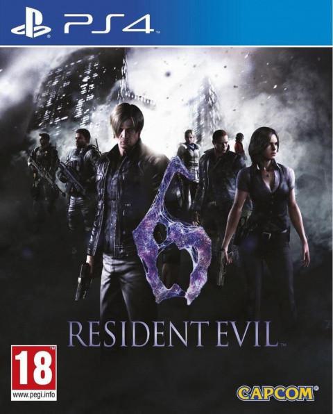 Resident Evil 6 sur PS4