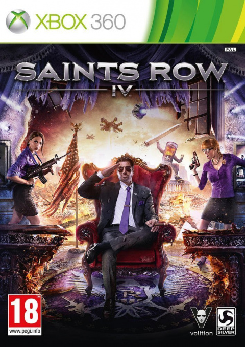 Saints Row IV sur 360