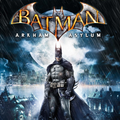 Batman Arkham Asylum sur Box Orange