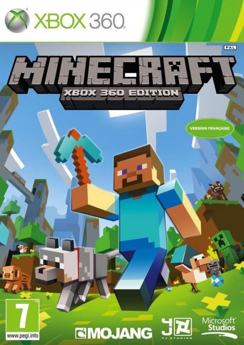 Jaquette de Minecraft