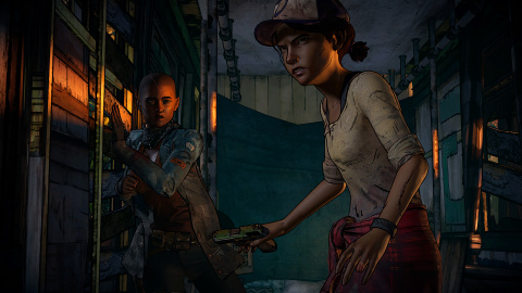 PS Store : The Walking Dead A New Frontier zombifie la PS4