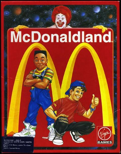 McDonald land sur ST