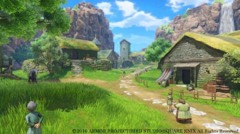 Dragon Quest XI : les versions PS4 et 3DS comparées en images