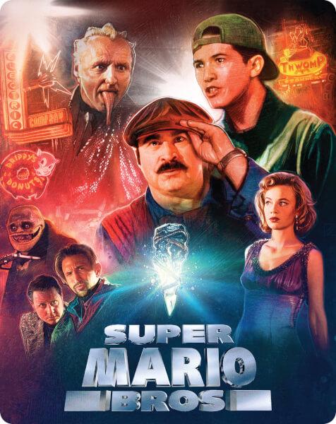 Le film Super Mario Bros.  édité encore une fois en Blu-Ray