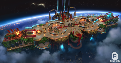 Games of Glory : Un concurrent intéressant entre dans l'arène du MOBA