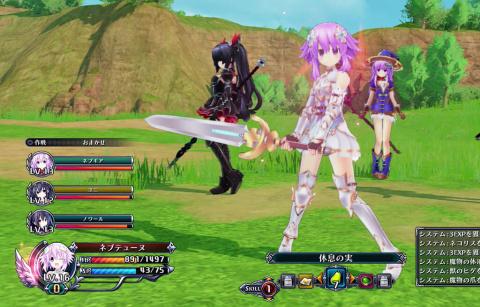 Cyber Dimension Neptune présente les Déesses, les Démons et du gameplay